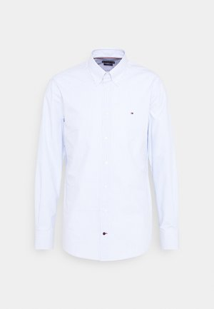 POPLIN WIDE STRIPE REGULAR FIT - Skjorta - light blue/white