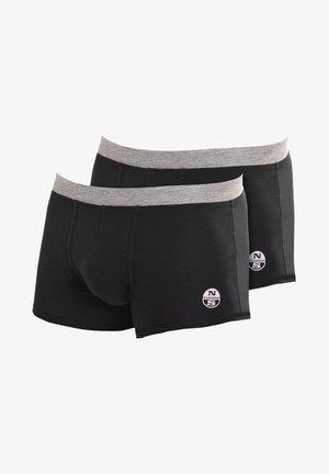 2 PACK - Onderbroeken - black