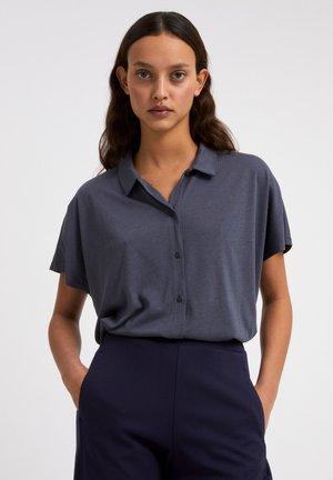 NAALA - Button-down blouse - indigo