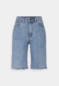 Object - OBJMARINA - Shorts di jeans - light blue denim - 0