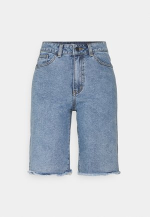 OBJMARINA - Shorts di jeans - light blue denim