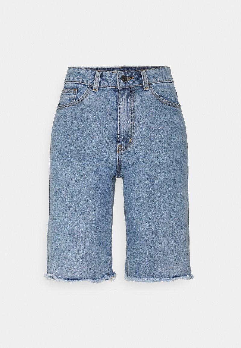 Object - OBJMARINA - Shorts di jeans - light blue denim