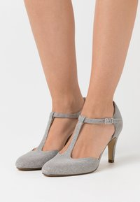 Tamaris - Klassiske pumps - silver glam - 0