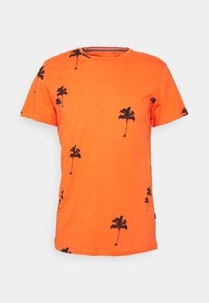 TEE - T-shirt med print - nasturtium