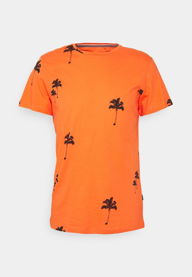 TEE - Print T-shirt - nasturtium