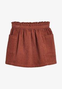 Next - A-line skirt - brown - 1