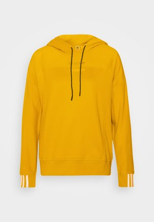 SPORTS INSPIRED LOOSE HOODED  - Hoodie - legacy gold