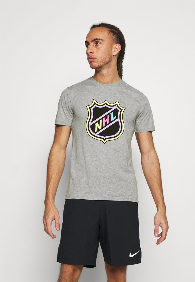 NHL ICONIC REFRESHER GRAPHIC  - Club wear - sports grey