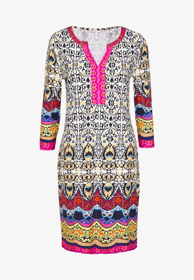 DRESS TROPICAL PRINT - Vestito di maglina - multi coloured