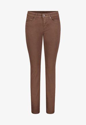 DAMEN HOSE DREAM - Jeans Skinny Fit - fawn brown