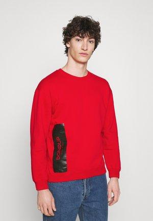 FELPA GIROCOLLO - Sweater - red