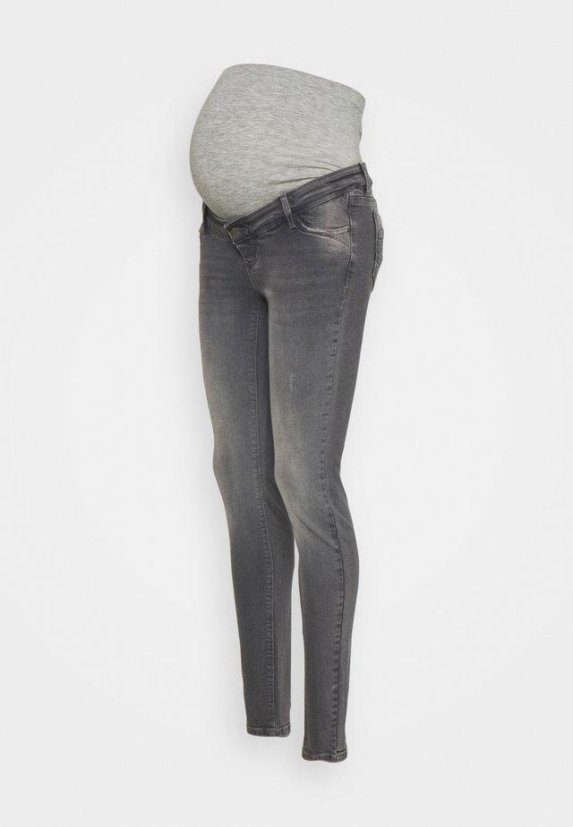 MLSAVANNA - Džíny Slim Fit - medium grey denim