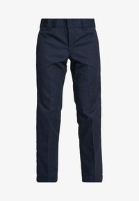 873 SLIM STRAIGHT WORK PANT - Broek - dark navy
