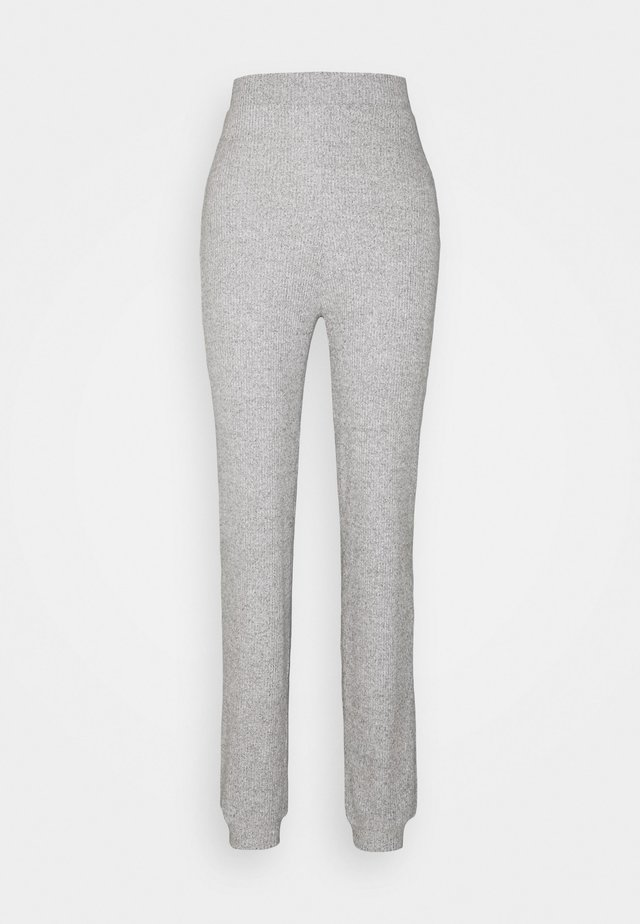 VMTIA PANT VIP - Trousers - light grey melange