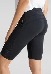 Esprit Sports - BIKER - Sports shorts - black - 3