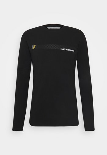 SUPER SLIM FIT IN STRETCH - Long sleeved top - black