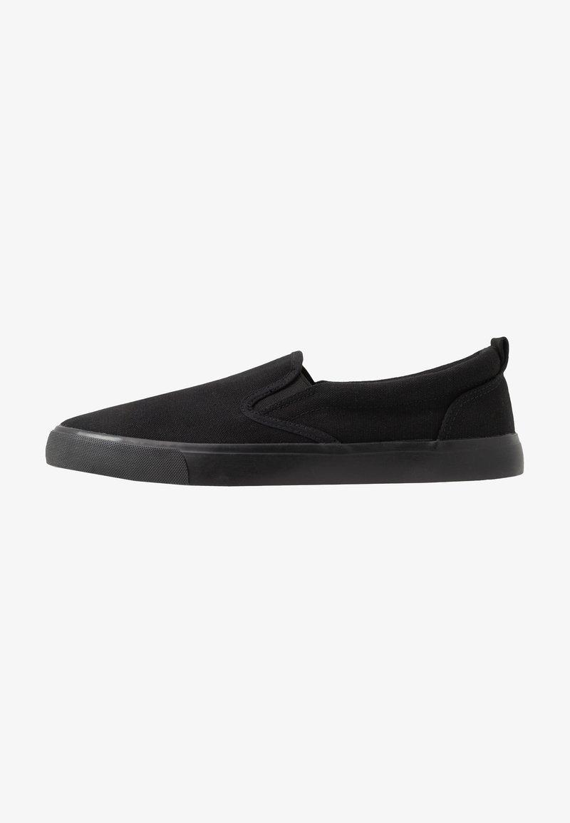 Pier One - UNISEX - Nazouvací boty - black