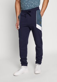 Lyle & Scott - SPLICE TRACKPANT - Trainingsbroek - navy - 0