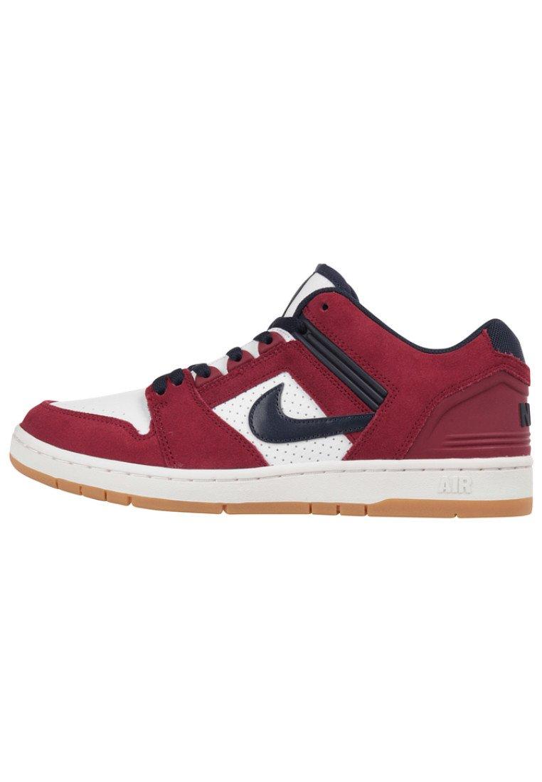Nike SB AIR FORCE II - Baskets basses - red/rouge - ZALANDO.FR
