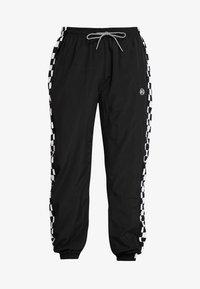 K1X - CHECKER PANTS - Tracksuit bottoms - black - 4