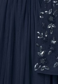 Maya Deluxe Maternity - FLORAL EMBELLISHED BELL SLEEVE MAXI - Occasion wear - navy - 5