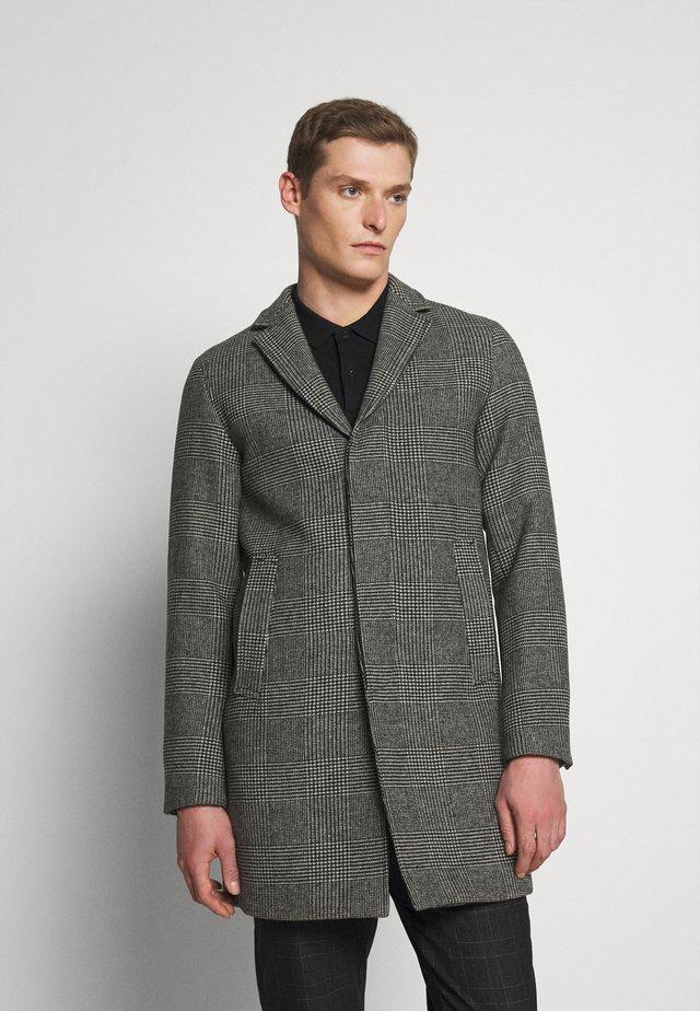 SLHHAGEN  WOOL COAT  - Classic coat - white/black