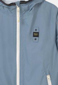 Blauer - GIUBBINI CORTI - Vodotěsná bunda - dark sky blue - 2