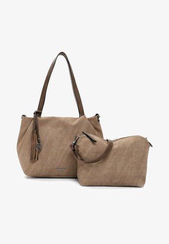ELKE - Handbag - taupe