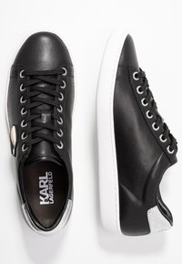 KARL LAGERFELD - KUPSOLE IKONIC LACE - Sneakers laag - black - 3