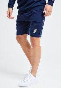 Illusive London Juniors - Shorts - navy & cream - 0