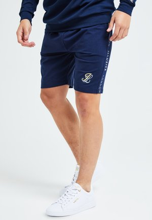Shorts - navy & cream