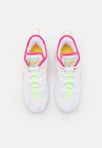 Jordan - ONE TAKE II UNISEX - Obuwie do koszykówki - white/hyper pink/lime glow/citron pulse - 3