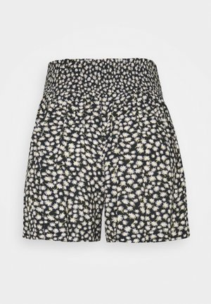 CHAIN RUNNER FLORAL - Shorts - black