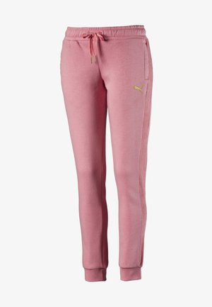 PUMA FLEECE WOMEN'S TRACK PANTS FEMMES - Tracksuit bottoms - brandied apricot