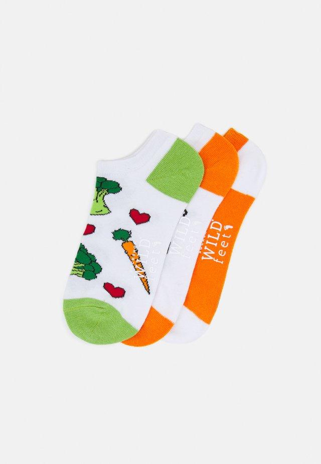 VEGGIES TRAINER SOCKS 3 PACK - Socks - multi-coloured