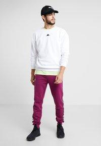 Kappa - VESLANN - Sweatshirt - bright white - 1