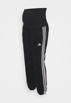 MATERNITY - Teplákové kalhoty - black/white