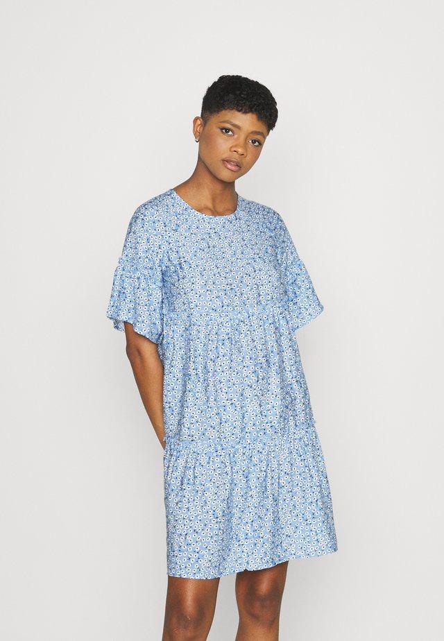 GIRAL - Korte jurk - blue bell
