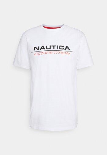 VANG - Print T-shirt - white