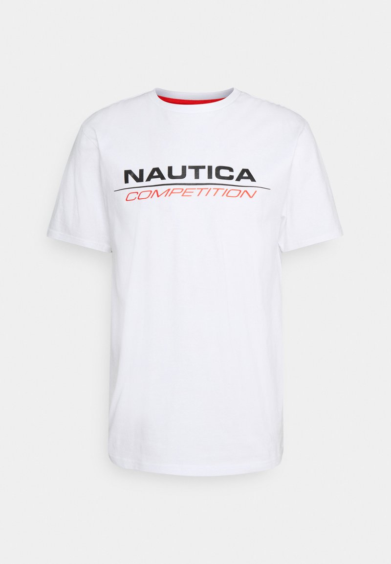 NAUTICA COMPETITION - VANG - Print T-shirt - white