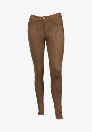 PENELOPE  - Trousers - rubbed cognac