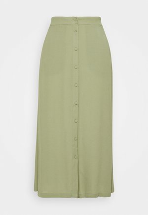 MAISA - A-line skirt - oil green