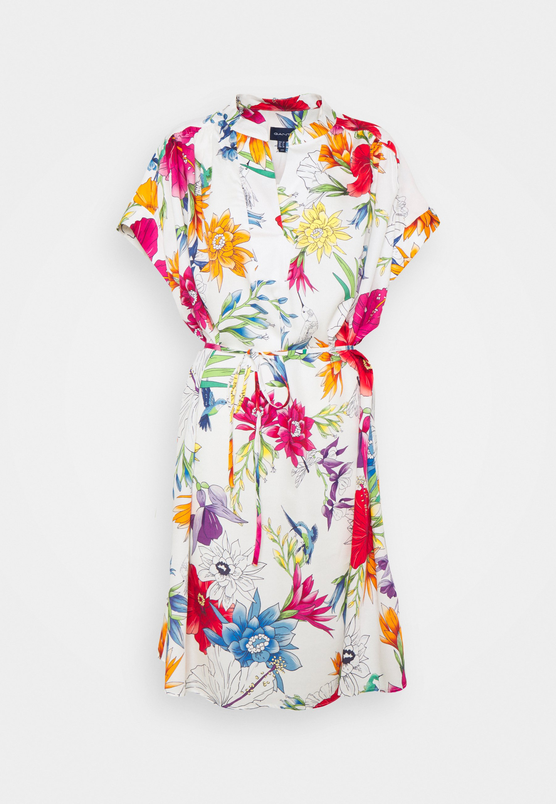 Women HUMMING FLORAL POPOVER DRESS - Day dress