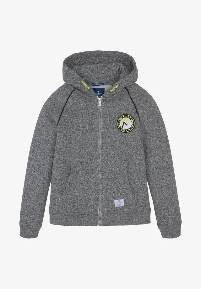 Zip-up hoodie - original multicolored