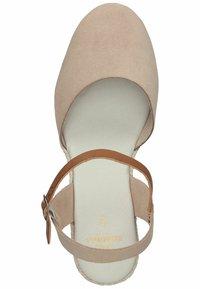 Sansibar Shoes - Sleehakken - beige - 3