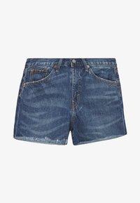 Polo Ralph Lauren - SPHIA CUTOFF - Denim shorts - medium indigo - 5