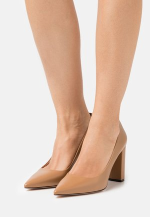 INES CHUNKY - Klassiske pumps - light beige