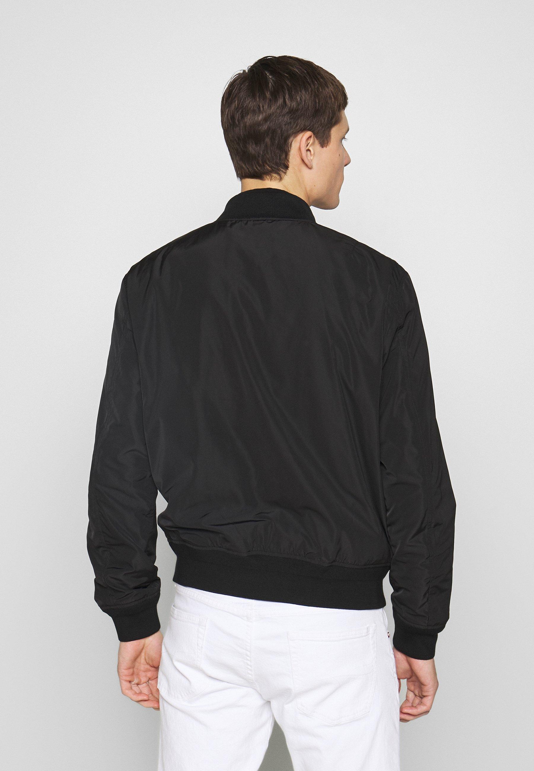 Ammattilainen Miesten vaatteet Sarja dfKJIUp97454sfGHYHD Polo Ralph Lauren CITY Bombertakki polo black
