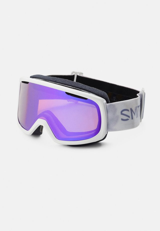 RIOT UNISEX - Masque de ski - everyday violet/mirror yellow
