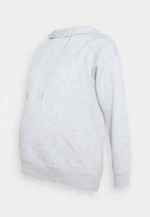 POCKET HOODIE - Bluza z kapturem - light grey